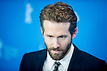 Actor Ryan Reynolds promotes film woman in gold during the LXV Berlin film festival, Berlinale at Potsdamer Straße in Berlin on February 9, 2015. Samuel de Roman / Photocall3000 / Dyd fotografos-DYDPPA.