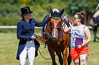 AUS-Lissa Green rides Med Night Trafford Mignonette during the CCI3*-S Section A Dressage. Interim-=34th. 2019 GBR-Barbury Castle International Horse Trial. Wiltshire, Great Britain. Thursday 4 July. Copyright Photo: Libby Law Photography