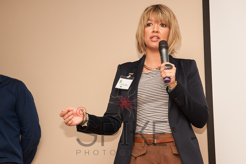 Nichola Goulder of Capital FM speaks to Nottingham City Business Club