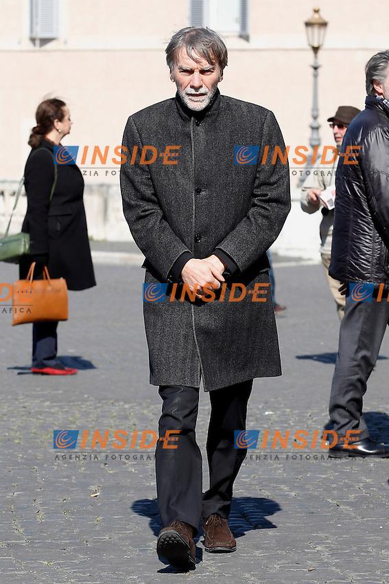 Graziano Delrio<br /> Roma 12-03-2015 Piazza del Quirinale. Inaugurazione dell'Anno Giudiziario alla Consulta.<br /> Photo Samantha Zucchi Insidefoto