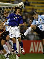 Mio Otani of Japan v Clarisa Huber of Argentina2003 WWC Japan/Argentina