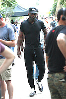 NEW YORK, NY - JUNE 30:  Idris Elba seen on the set of 'The Dark Tower' on June 30, 2016 in New York City. Credit: DC/Media Punch