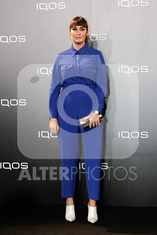 Vicky Martin Berrocal attends to IQOS3 presentation at Palacio de Cibeles in Madrid. February 10,2019. (ALTERPHOTOS/Alconada)