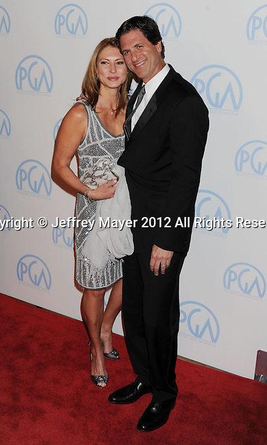 BEVERLY HILLS, CA - JANUARY 22: Steven Levitan attends the 23rd Annual Producers Guild Awards at The Beverly Hilton Hotel on January 21, 2012 in Beverly Hills, California.