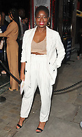 Clara Amfo at the &quot;Kinky Boots&quot; gala performance, Adelphi Theatre, The Strand, London, England, UK, on Tuesday 29 May 2018.<br /> CAP/CAN<br /> &copy;CAN/Capital Pictures
