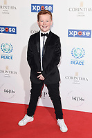 Braydon Brent<br /> arriving for the Football for Peace initiative dinner by Global Gift Foundation at the Corinthia Hotel, London<br /> <br /> ©Ash Knotek  D3493  08/04/2019