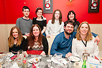 30th Birthday : Jeremy Murphy, Listowel celebrating his 30th birthday with family at Eabha Joan's Restaurant, Listowel on Saturday night last. Front : Anna McDonagh, Margaret Nolan, Jeremy Murphy & Carol O'Hanlon. V back Michael Murphy, Sarah McDonagh, Jonathan Casey & Catherine Murphy.