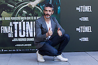 Argentine actor Leonardo Sbaraglia during the photocall of  Al final del tunel at Warner Bros Espana in Madrid. August 8, 2016. (ALTERPHOTOS/Rodrigo Jimenez) /NORTEPHOTO.COM