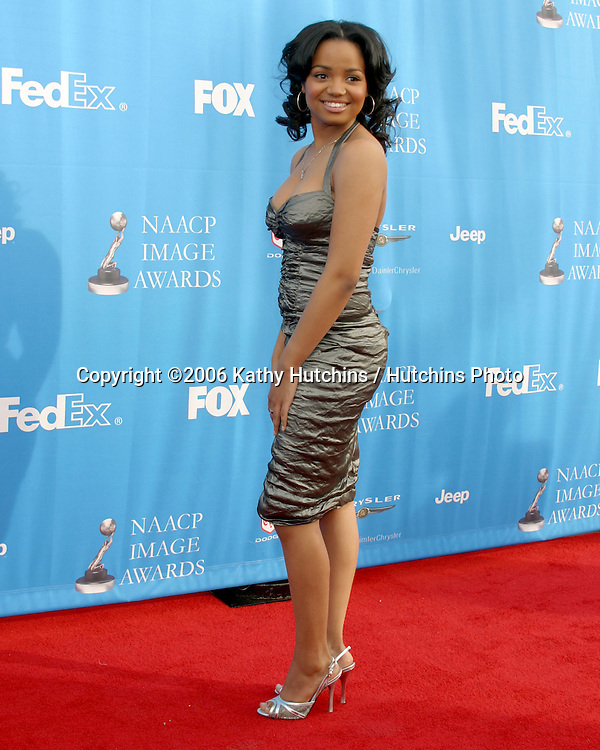 Kyla Pratt.37th NAACP Image Awards.Shrine Auditorium.Los Angeles, CA.February 25, 2006.©2006 Kathy Hutchins / Hutchins Photo....