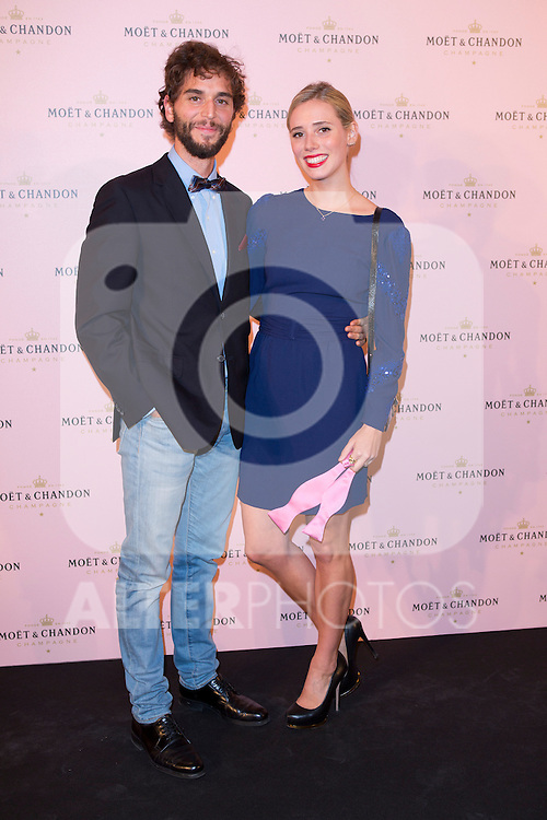 "Lulu de Figueroa and Adrian Saavedra attends the ""Moon Night Party"" of Moët & Chandon at Casino in Madrid, Spain. September 17, 2014. (ALTERPHOTOS/Carlos Dafonte)"
