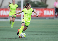 Seattle, WA - Saturday July 23, 2016: Nahomi Kawasumi during a regular season National Women's Soccer League (NWSL) match between the Seattle Reign FC and the Orlando Pride at Memorial Stadium.