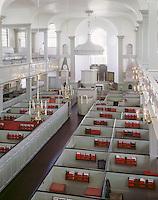 Trinity church interior Newport RI