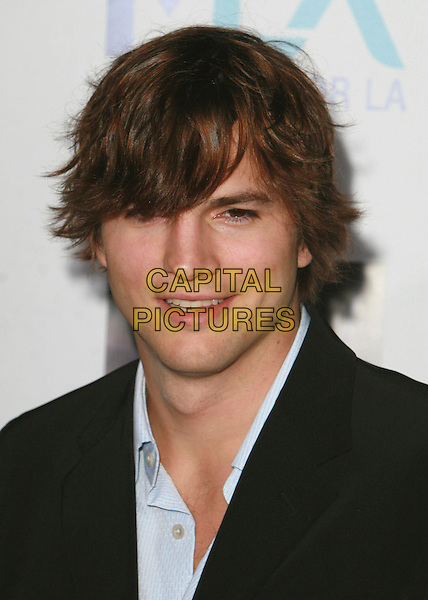 ASHTON KUTCHER.Mentor LA's Promise Gala Honoring Tom Cruise held at 20th Century Fox Studios,  Los Angeles, California, USA..March 22nd, 2007.headshot portrait .CAP/ADM/CH.©Charles Harris/AdMedia/Capital Pictures
