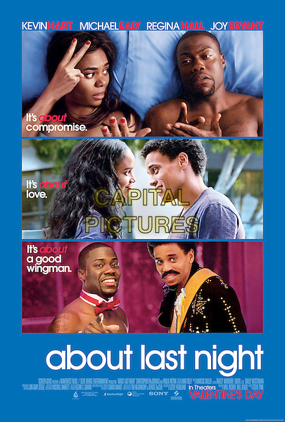 ONE SHEET POSTER ART<br /> in About Last Night (2014) <br /> *Filmstill - Editorial Use Only*<br /> CAP/FB<br /> Image supplied by Capital Pictures