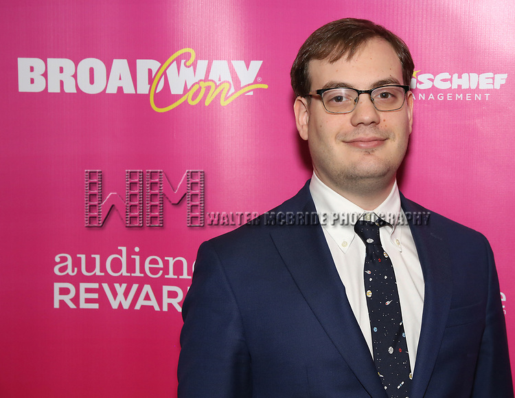 Hal Berman attends the BroadwayHD panel discussion at Broadwaycom 2018 on January 26, 2018 at Jacob Javitz Center in New York City.