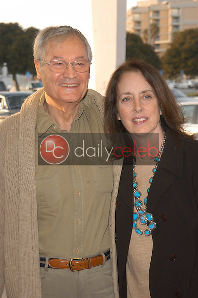 Roger Corman and wife Julie
