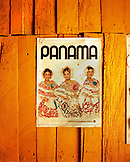 PANAMA, Cana, a poster hung on the wall of a guard bunk room at the Cana Field Station near the Colombian Boarder, Central America