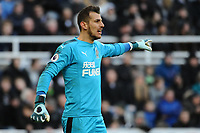 Martin Dubravka of Newcastle United during Newcastle United vs Manchester United, Premier League Football at St. James' Park on 11th February 2018