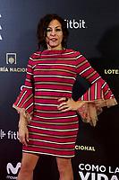 Cristina Medina attends to 'Como la Vida Misma' film premiere during the 'Madrid Premiere Week' at Callao City Lights cinema in Madrid, Spain. November 12, 2018. (ALTERPHOTOS/A. Perez Meca) /NortePhoto.com