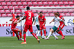 Joshua Sargent (Werder Bremen #19), Niklas Moisander (Werder Bremen #18 Kapitaen), Danny Latza (FSV Mainz 05 #06), Aarón Martín / Aaron Martin (FSV Mainz 05 #03), Jean-Philippe Mateta (FSV Mainz 05 #09)<br /> <br /> <br /> Sport: nphgm001: Fussball: 1. Bundesliga: Saison 19/20: 33. Spieltag: 1. FSV Mainz 05 vs SV Werder Bremen 20.06.2020<br /> <br /> Foto: gumzmedia/nordphoto/POOL <br /> <br /> DFL regulations prohibit any use of photographs as image sequences and/or quasi-video.<br /> EDITORIAL USE ONLY<br /> National and international News-Agencies OUT.