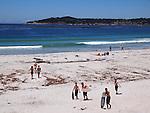 Skim boarders at Carmel Beach