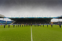 A minutes silence is observed for Remembrance Day during the Sky Bet Championship match between Sheffield Wednesday and Swansea City at Hillsborough Stadium, Sheffield, England, UK. Saturday 09 November 2019