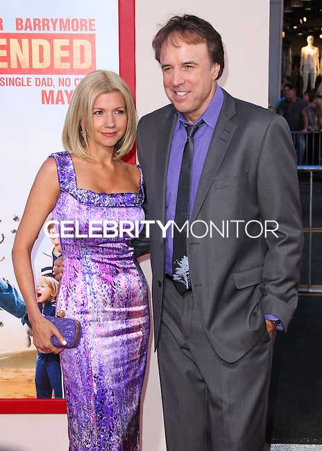 HOLLYWOOD, LOS ANGELES, CA, USA - MAY 21: Susan Yeagley, Kevin Nealon at the Los Angeles Premiere Of Warner Bros. Pictures' 'Blended' held at the TCL Chinese Theatre on May 21, 2014 in Hollywood, Los Angeles, California, United States. (Photo by Xavier Collin/Celebrity Monitor)