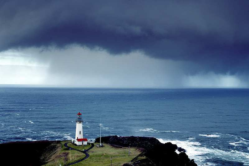 Yaquina Lighthouse, Oregon.