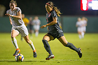 STANFORD, CA - August 24, 2018: Sophia Smith at Laird Q. Cagan Stadium. The Stanford Cardinal defeated the USF Dons 5-1.