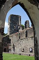 Belgium, Brabant Wallon, Villers La Ville: Abbey, Ruins of Cistercian Abbey