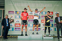 German National Champion Pascal Ackermann (DEU/BORA-hansgrohe) wins the 98th Brussels Cycling Classic 2018, while Jasper Stuyven (BEL/Trek-Segafredo) ends 2nd and Thomas Boudat (FRA/Direct Energie) 3rd<br /> <br /> One Day Race:  Brussels > Brussels (201km)