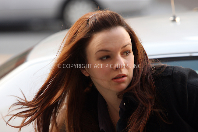 WWW.ACEPIXS.COM . . . . .  ....December 4 2008, New York City....Actress Amber Tamblyn was on the Brooklyn set of the new TV show 'The Unusuals' in which she plays a detective in the NYPD Homicide department on December 4 2008 in New York City......Please byline: AJ Sokalner - ACEPIXS.COM..... *** ***..Ace Pictures, Inc:  ..te: (646) 769 0430..e-mail: info@acepixs.com..web: http://www.acepixs.com