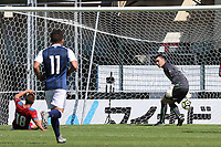 Czech Republic's Denis Granecny slides in and concedes an own goal for Scotland's third of the match during Czech Republic Under-20 vs Scotland Under-20, Toulon Tournament Football at Stade de Lattre-de-Tassigny on 10th June 2017