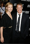"""HOLLYWOOD, CA. - April 30: Anna Torv and Mark Valley arrive at the Los Angeles premiere of """"Star Trek"""" at the Grauman's Chinese Theater on April 30, 2009 in Hollywood, California.a"""