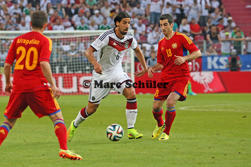 Sami Khedira (D) - Deutschland vs. Armenien in Mainz
