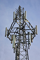 Mobile phone mast, Gloucestershire, United Kingdom