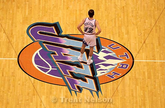 John Stockton. Utah Jazz vs. Phoenix Suns.  11.19.2002, 7:57:02 PM<br />