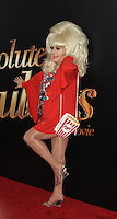 NEW YORK, NY-July 18: Lady Bunny at Fox Searchlight Pictures presents premiere of Absolutely Fabulous: The Movie  to talk about  Star Trek Beyond in New York. NY July 18, 2016. Credit:RW/MediaPunch