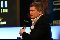 Ricky Hatton during a Press Conference at the BT Studio on 9th May 2019