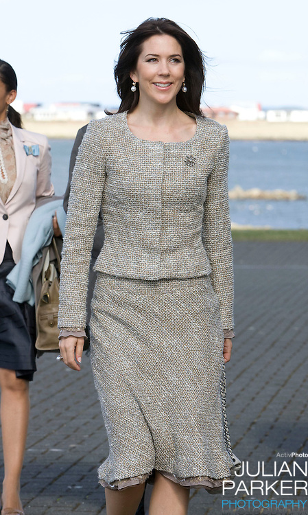 Crown Prince Frederick and Crown Princess Mary of Denmark begin a four day official visit to Iceland, arrive at The Presidents residence in Reykjavik, and greeted by The President of Iceland, Olafur Ragnar Grimsson, and his wife Dorrit Moussaieff