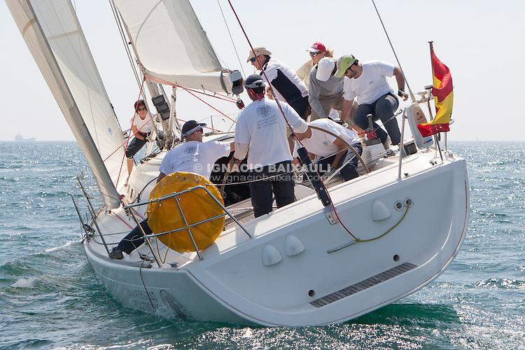 XIV Trofeo UPV Vela,14 y 15 fr Mayo de 2011, Real Club Náutico de Valencia