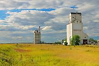 Grain elevator and inlnd grain terminal<br /> Hodgeville<br /> Saskatchewan<br /> Canada