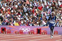 Zamzam Mohamed Farah Somalia.London 03/08/2012 .London 2012 Olympic games  - Women s 400m Heat of Athletics - Olimpiadi Londra 2012 - 400m Donne Atletica.Foto Imago / Insidefoto.ITALY ONLY..