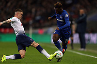 Kieran Trippier of Tottenham Hotspur and Callum Hudson-Odoi of Chelsea during Tottenham Hotspur vs Chelsea, Caraboa Cup Football at Wembley Stadium on 8th January 2019