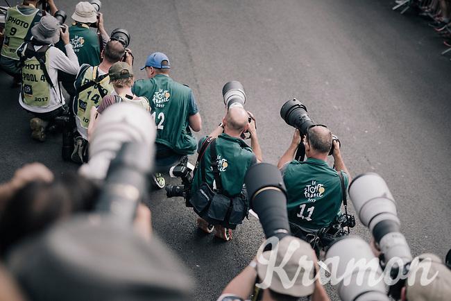 finish line photographers<br /> <br /> 104th Tour de France 2017<br /> Stage 7 - Troyes &rsaquo; Nuits-Saint-Georges (214km)