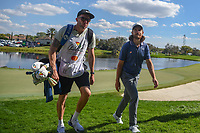 Tommy Fleetwood (ENG) departs 18 during round 1 of the Arnold Palmer Invitational at Bay Hill Golf Club, Bay Hill, Florida. 3/7/2019.<br /> Picture: Golffile | Ken Murray<br /> <br /> <br /> All photo usage must carry mandatory copyright credit (&copy; Golffile | Ken Murray)