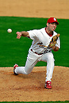 28 February 2007: St. Louis Cardinals pitcher Mike Sillman on the mound during a pre-season, Grapefruit League game against the Florida Marlins on Opening Day for Spring Training at Roger Dean Stadium in Jupiter, Florida. The Cardinals and Marlins share Roger Dean Stadium and the training facilities which opened in 1998 as a co-development between the Cardinals and the Montreal Expos.<br /> <br /> Mandatory Photo Credit: Ed Wolfstein Photo