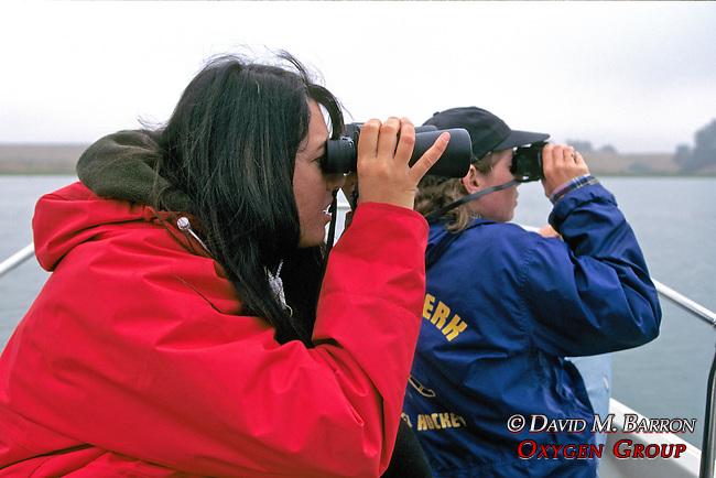 Daniela Maldini Feinholz & Earthwatcher Observing Sea Otters