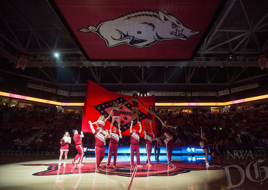NWA Democrat-Gazette/BEN GOFF @NWABENGOFF<br /> Arkansas vs Western Kentucky Saturday, Dec. 8, 2018, at Bud Walton Arena in Fayetteville.