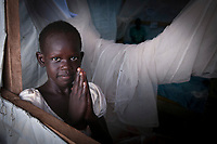 The international Medical Corps with funding from USAID runs a clinic, emergency room, maternity ward and hospital in the United Nation's Protection of Civilians camp in Juba, South Sudan.